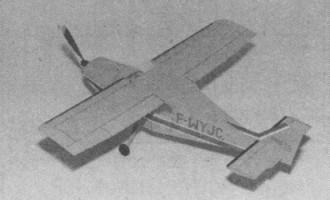 Pottier P 100 TS model airplane plan