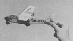 Praga E-211 model airplane plan