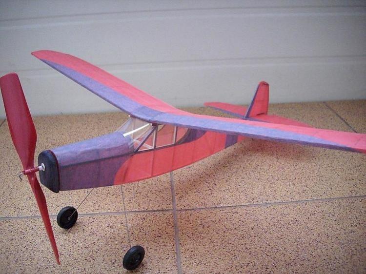 Tiger model airplane plan
