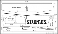 Simplex 2016 model airplane plan