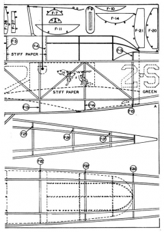 Scout p2 model airplane plan