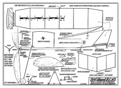Second Hand R.O.G. - by John Zaic model airplane plan