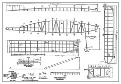 Senior Fuselage Winner - a late 1930's Wakefield from Air Trails model airplane plan