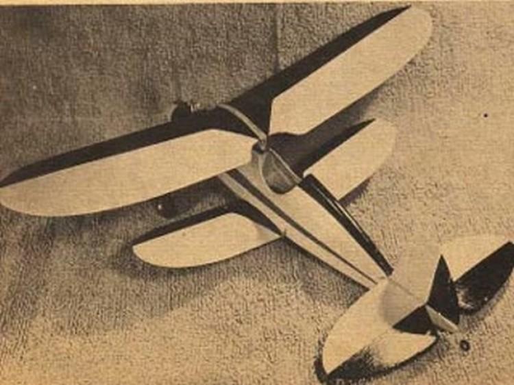 Snoopy , plan ( M.A.N. dec -56) model airplane plan
