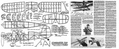 Starduster Too - homebuilt 2-place aerobatic biplane model airplane plan