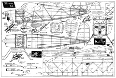Stinson 105 - by Paul Plecan from 1939 Popular Aviation model airplane plan