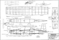 Texan II By Bob Issacks model airplane plan