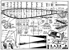 Tsetse Fly Wake p3 model airplane plan