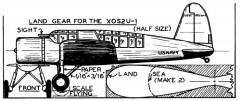 Vought Kingfisher p3 model airplane plan