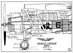 Vought SBU-1 p2 model airplane plan