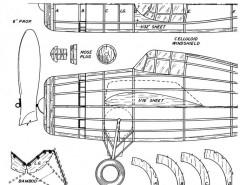 Wildcat 1 model airplane plan