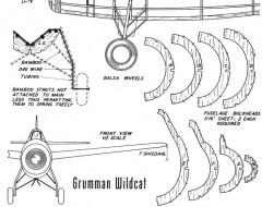Wildcat 2 model airplane plan