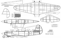 Yak9pnut model airplane plan