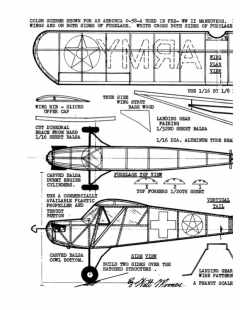 aeronca058a model airplane plan