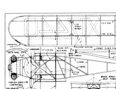 aeroncaK2 model airplane plan