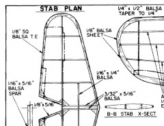 aichib7a2gracefs model airplane plan