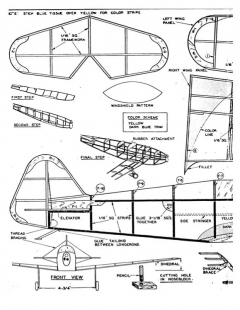 alliedsport model airplane plan
