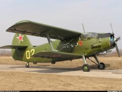 Antonov AN-2 model airplane plan