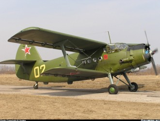 Antonov AN-2 model airplane plan