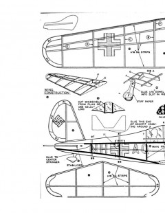 aradods model airplane plan