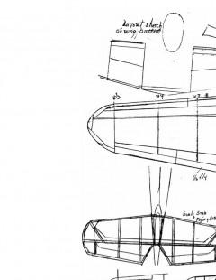 avias199a model airplane plan