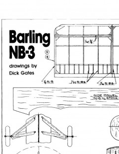 barlingnb-3 model airplane plan