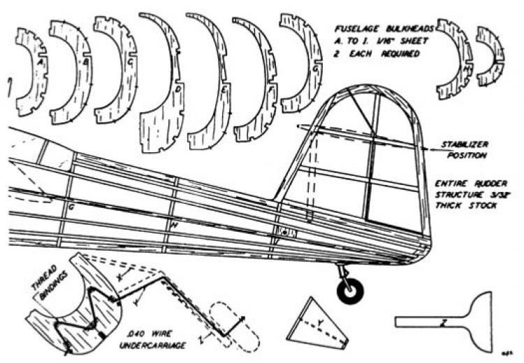 barp3 model airplane plan