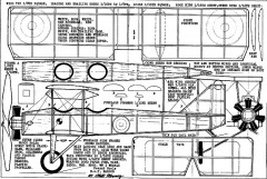 bat- wm model airplane plan