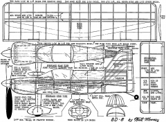 bd-8-wm model airplane plan