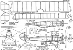 belltractor model airplane plan