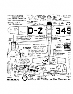 bfwm20b model airplane plan