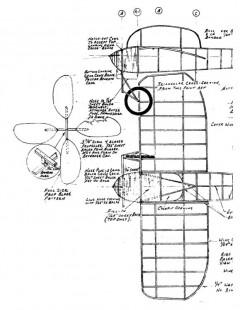 bleriot9 model airplane plan