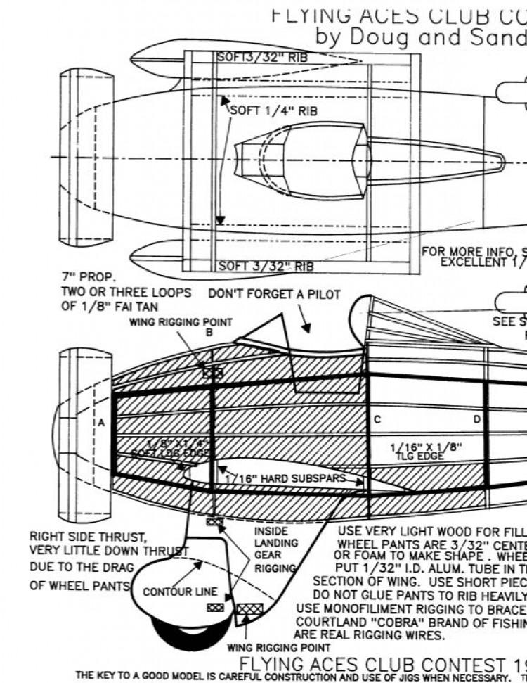 boeingp26a model airplane plan