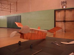 Canuck Bostonian model airplane plan