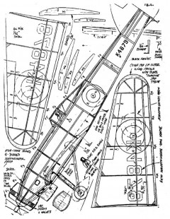 bristol138 model airplane plan