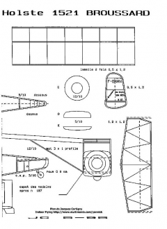 broussard2 model airplane plan