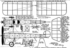 castairert iv model airplane plan