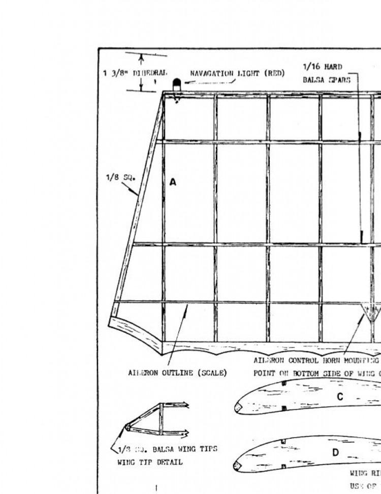 caudronc-109 model airplane plan