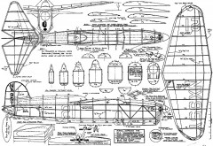 chambermaid model airplane plan