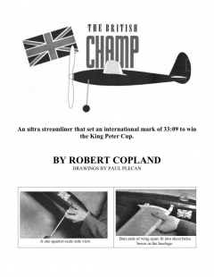 champ model airplane plan