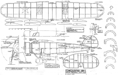 consolidatedxby-1 model airplane plan