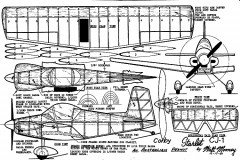 corbycj1-wm model airplane plan