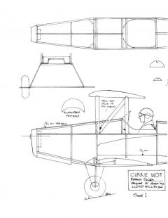 curriewot model airplane plan