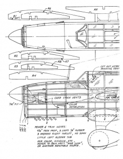 curtissseagull model airplane plan