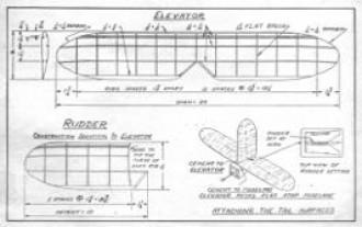 duplexp3 model airplane plan