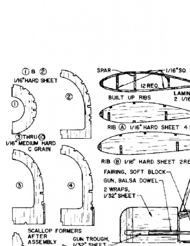 fiat0ldg50 model airplane plan