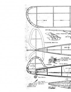 funk model airplane plan