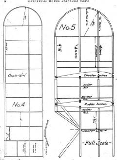 gslight4 model airplane plan