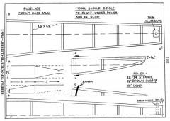 hiclp2 model airplane plan