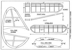 hiclp3 model airplane plan